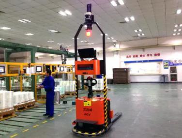 【万象】2021物流展:AGV智能搬运机器人的优点介绍
